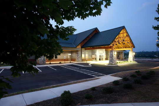 Asheville, NC - 24,133-square-foot Cancer Treatment Center including radiation therapy and medical oncology