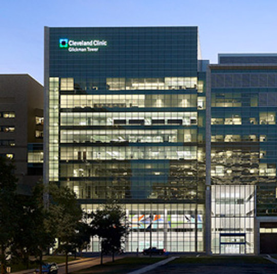 Cleveland, OH - A 319,000 sf, 10-story facility that houses the Cleveland Clinic's Urology, Nephrology, and Dialysis programs with 2 Endovascular ORs and Transfusion Medicine