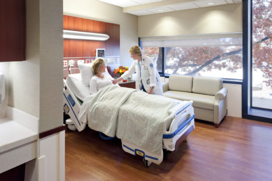 Hartford, CT - Upgrade and modernization of multiple patient care & public areas