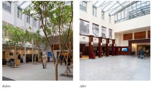 Main Lobby - before and after