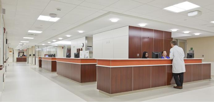 Jackson Memorial Hospital East Tower Room