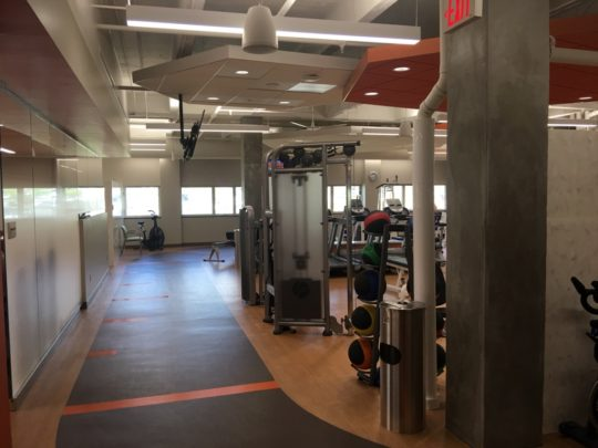 Chattanooga, TN - 23,000 square foot renovation of existing space within Chattanooga Heart Institute for a state-of-the-art Cardio Pulmonary Rehabilitation Center.  Includes an Employee Fitness Center.