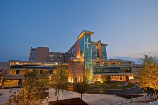 Chattanooga, TN - 400,000 square feet, 96 Med/Surgical beds, 7 Cath Labs/EP Labs and 50 CCU beds