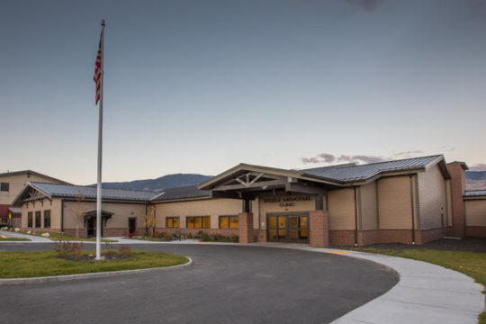 Salmon, ID - 18,000 square-foot, one-story medical office building for Steele Memorial Medical Center