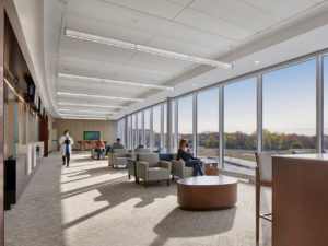 Hartford HealthCare HealthCenter - Mystic, waiting area