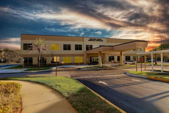 Brooksville, FL - 44,000 sf, 2-story medical office building located on the campus of HCA's Oak Hill Hospital. The facility offers outpatient and physician services in Internal Medicine, Primary Care / Pediatrics, Cardiology/Surgery, Rehab/Cardiac Rehab, and Wound Care.