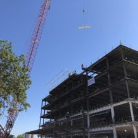 Topping Out - Healthpeak's Woman's Hospital of Texas MOB
